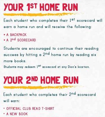 Dions Club Read 2